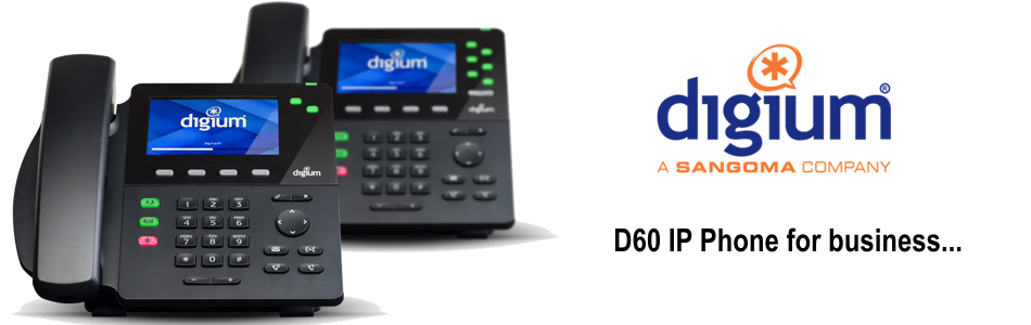 digium d60 business ip phone for work