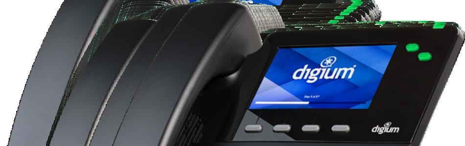 digium dual line d62 led button phone