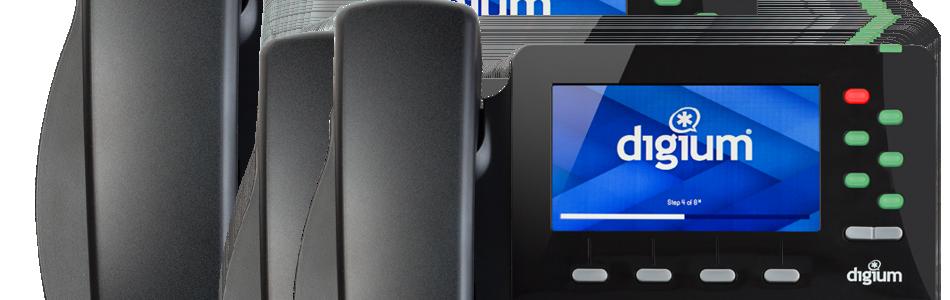 digium d65 screen close-up ip phone