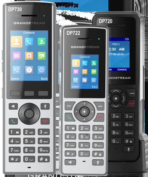 large screen cordless IP phone