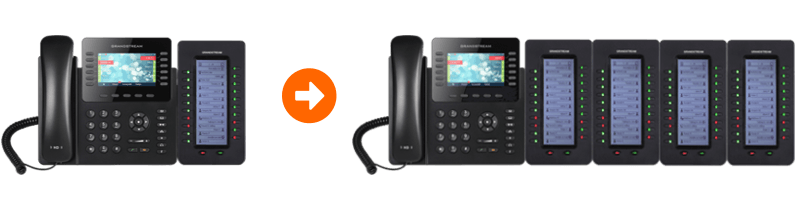 expandable grandstream ip phone