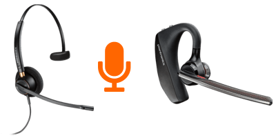 ehs and bluetooth headset accessories