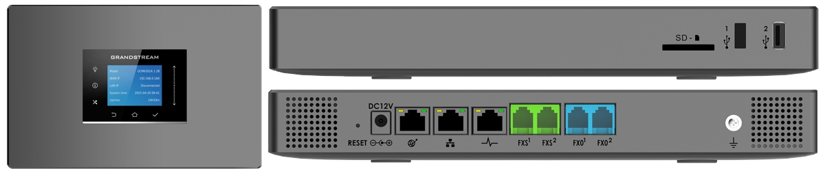 UCM6302A Audio only ip-pbx phone system