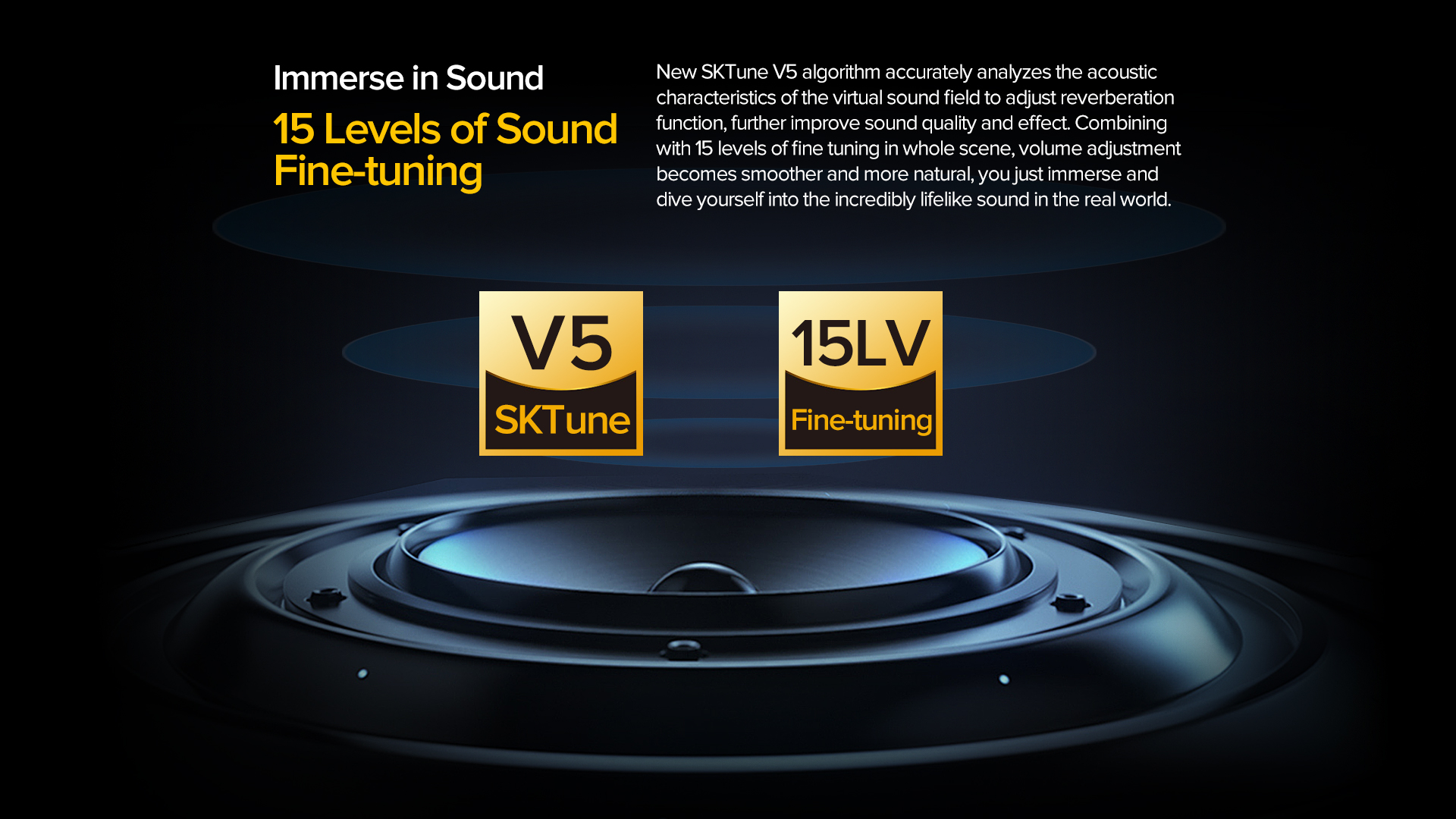 fine tuning sound features
