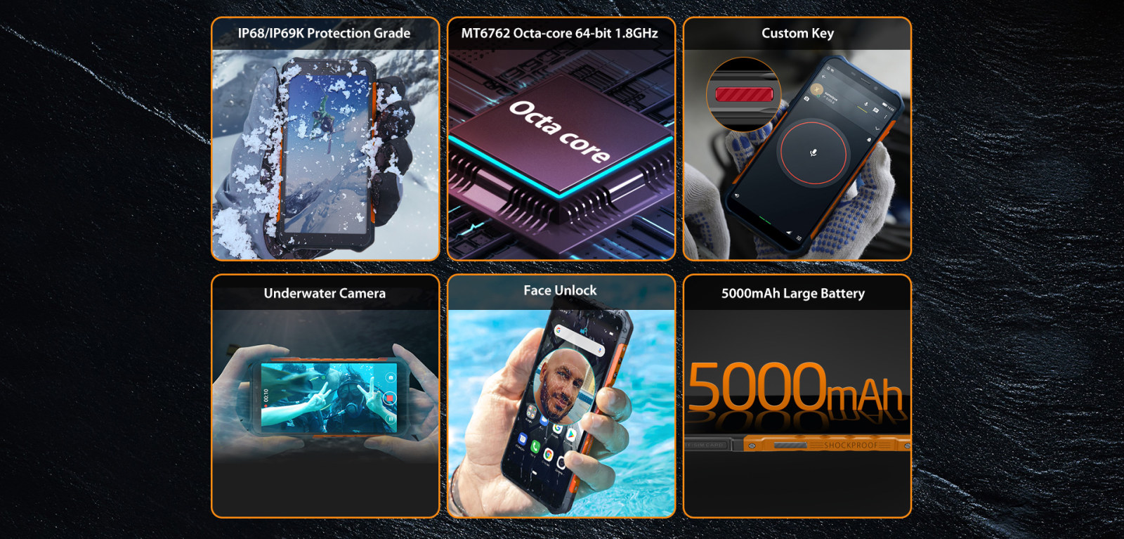 ulefone armor X5 quick features