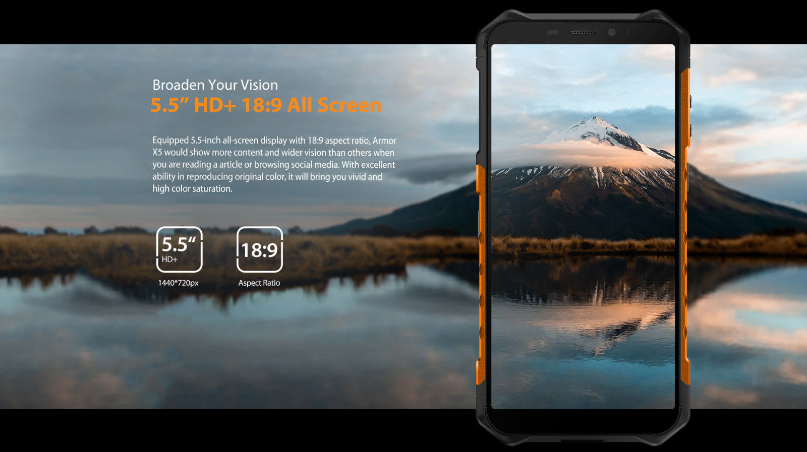 crystal clear HD video playback screen