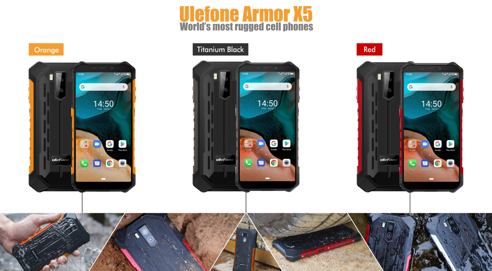 rugged budget cell phone - Ulefone X5