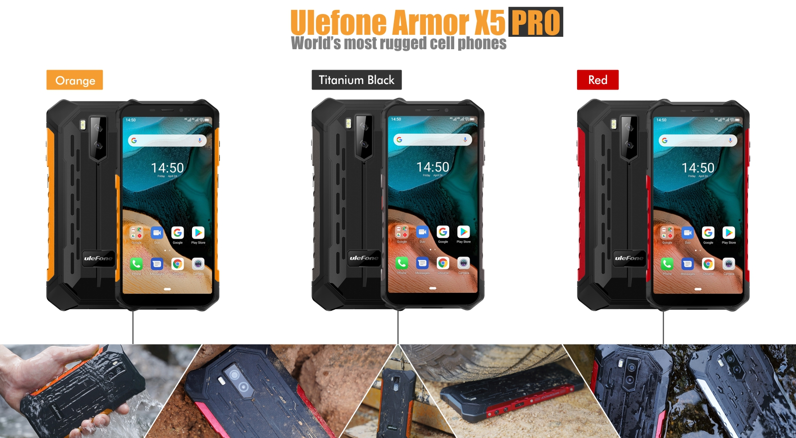 budget low cost X5 PRO rugged cell phone