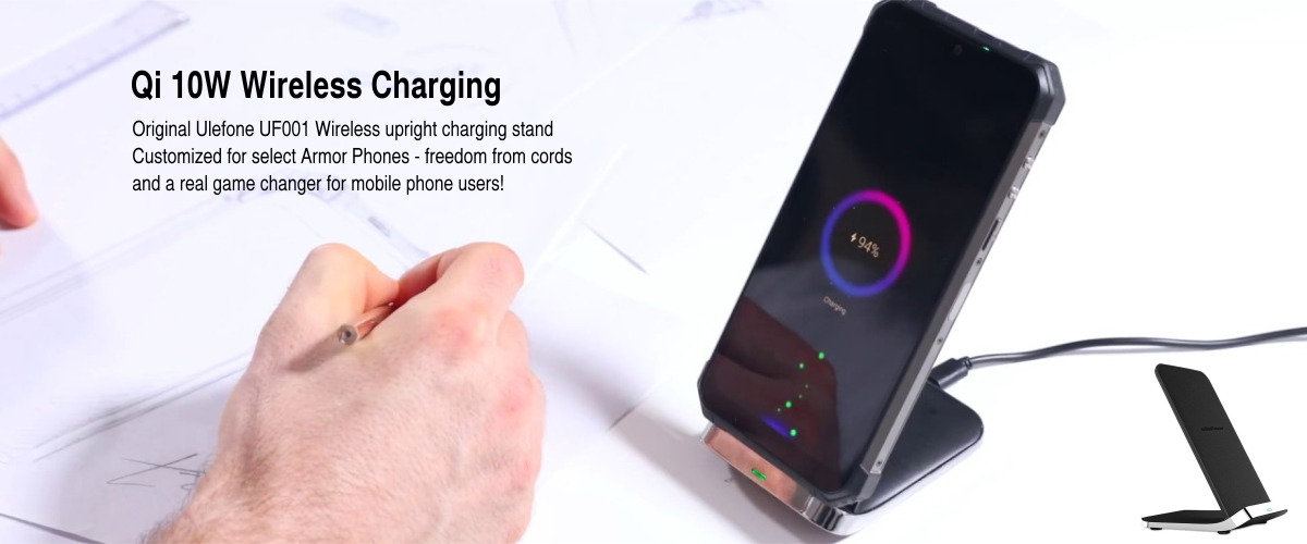 qi wireless charging 10w stand