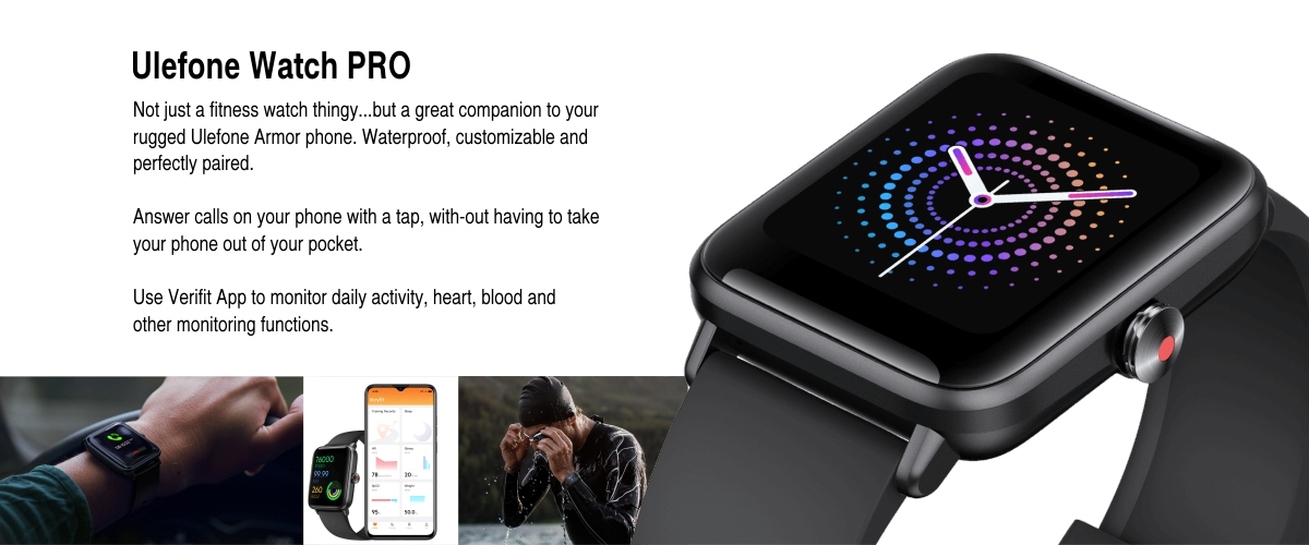ulefone pro watch companion