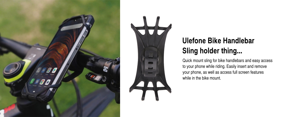 cell phone bike sling holder mount