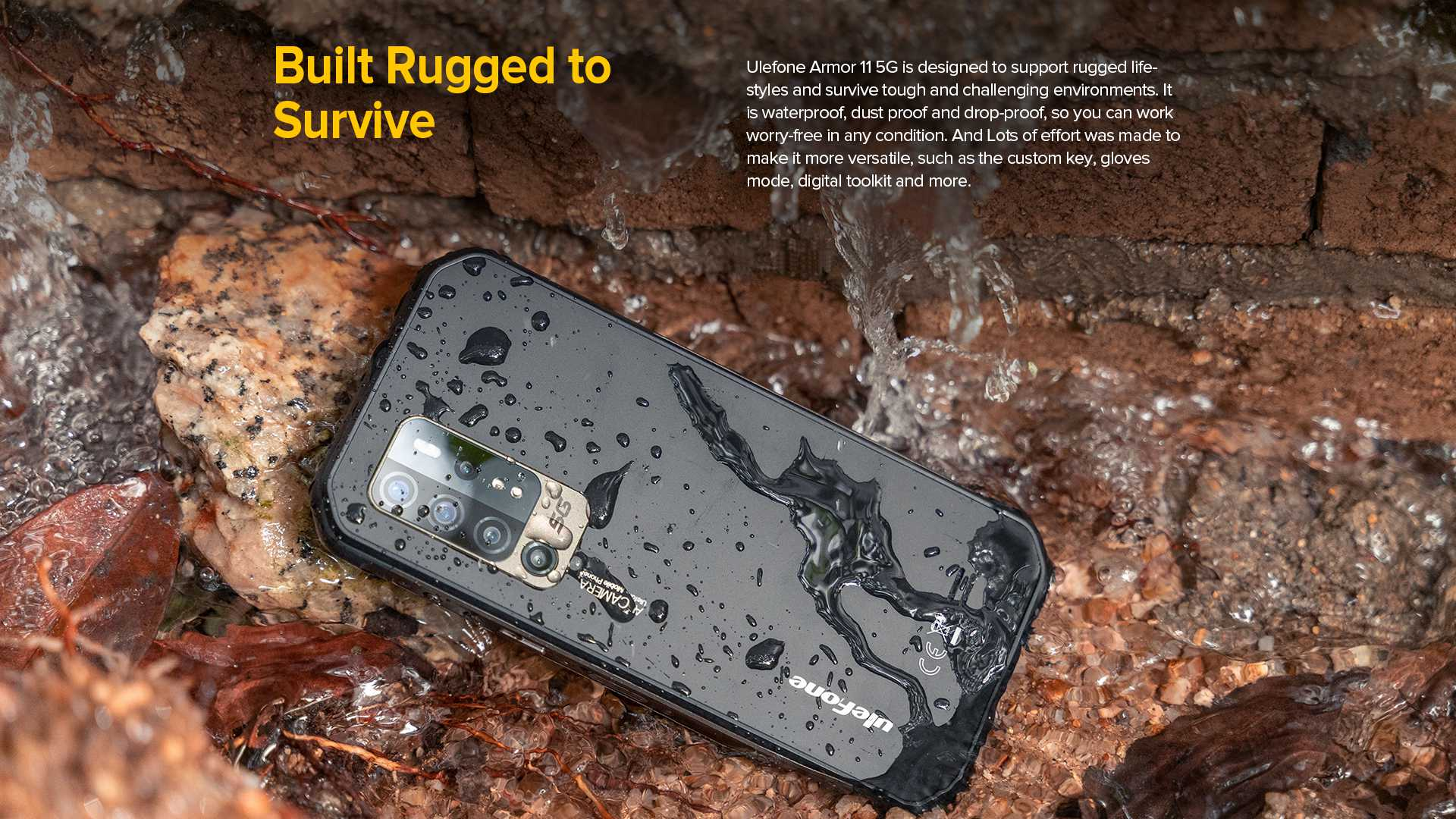 Ulefone Armor 11 Rugged and Durable
