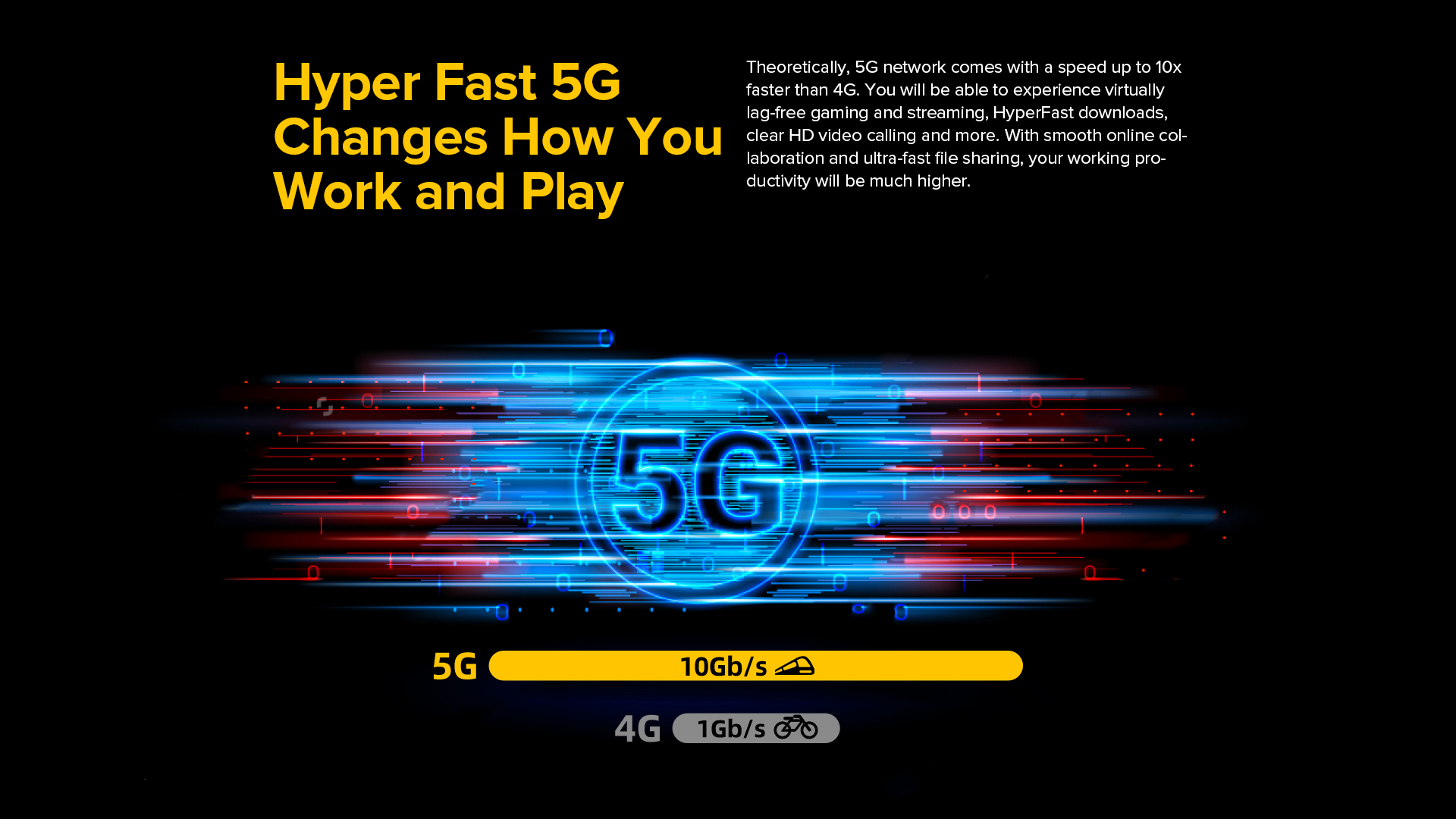 5G capable rugged cell phone