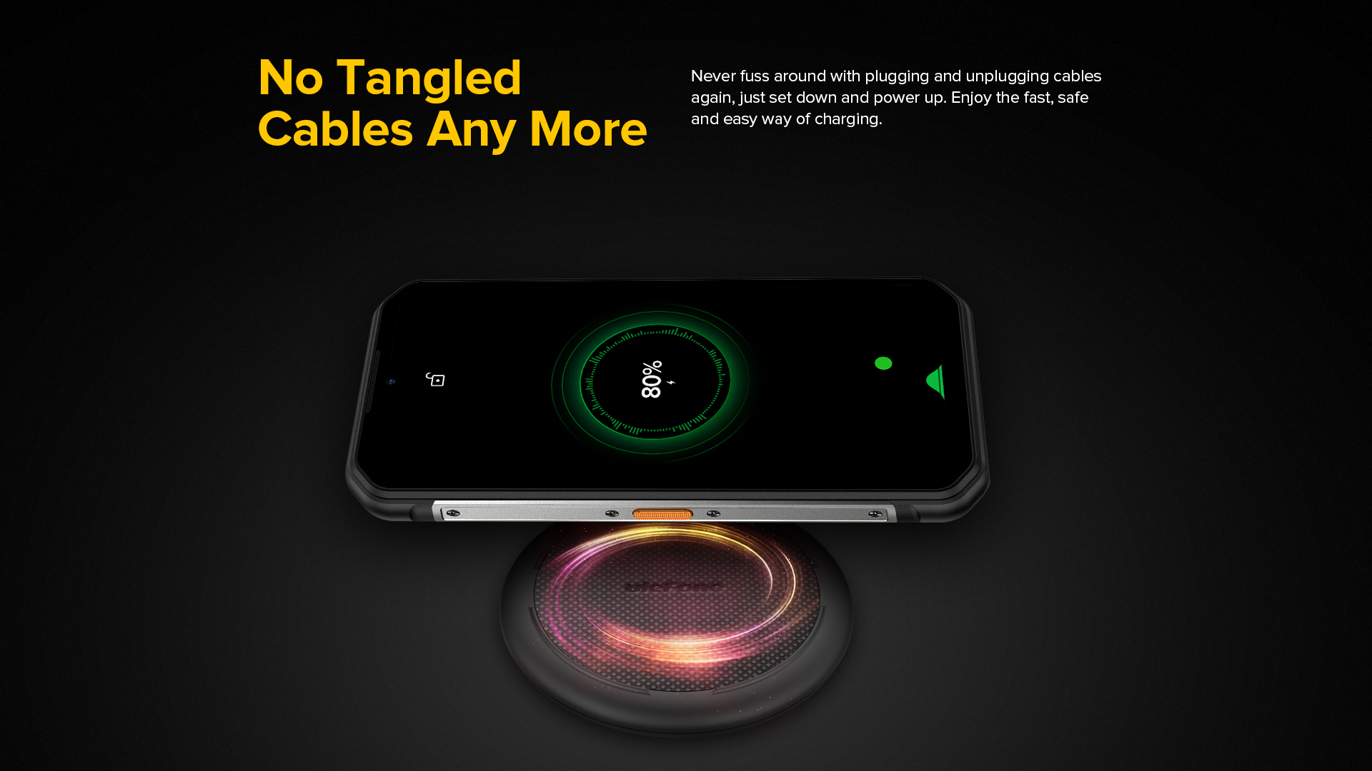 QI Wireless charging capable