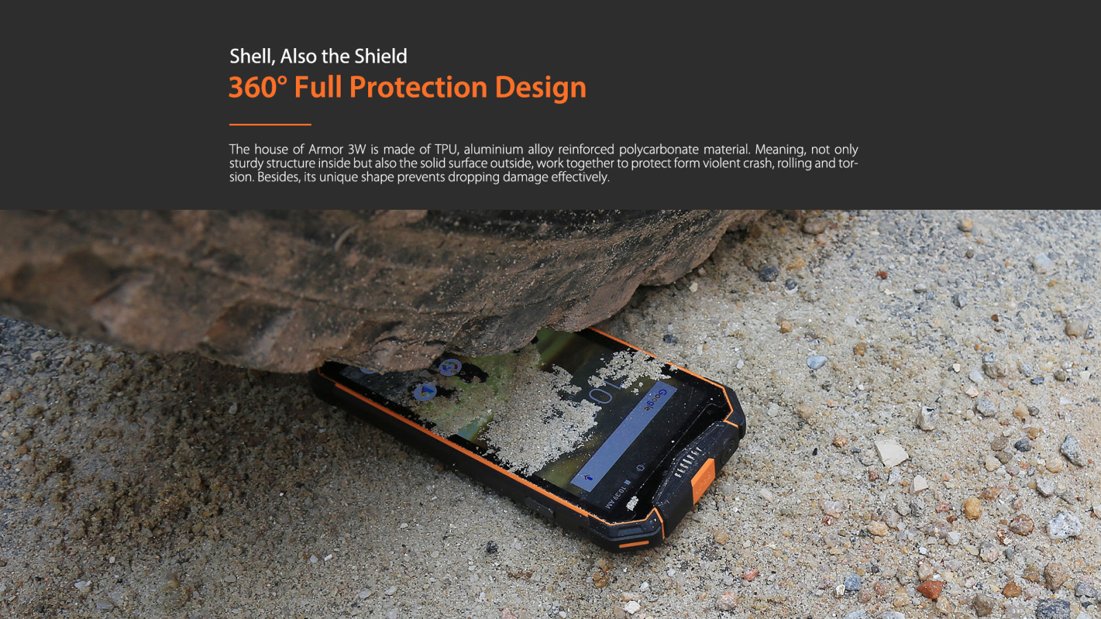 Armout 3WT touch protective shell