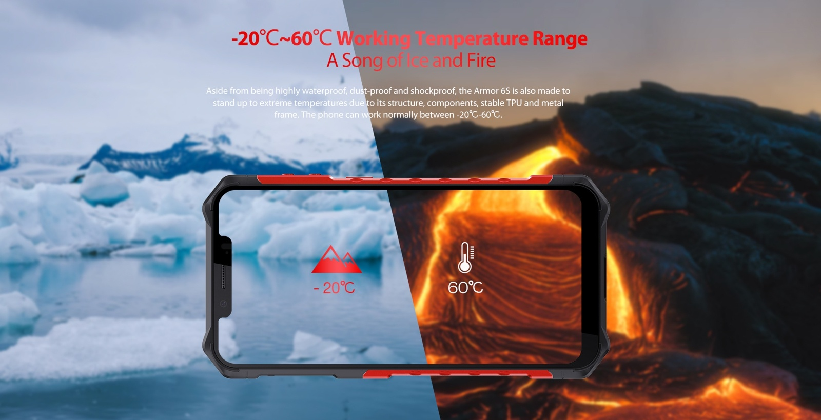 weather heat and cold resistant