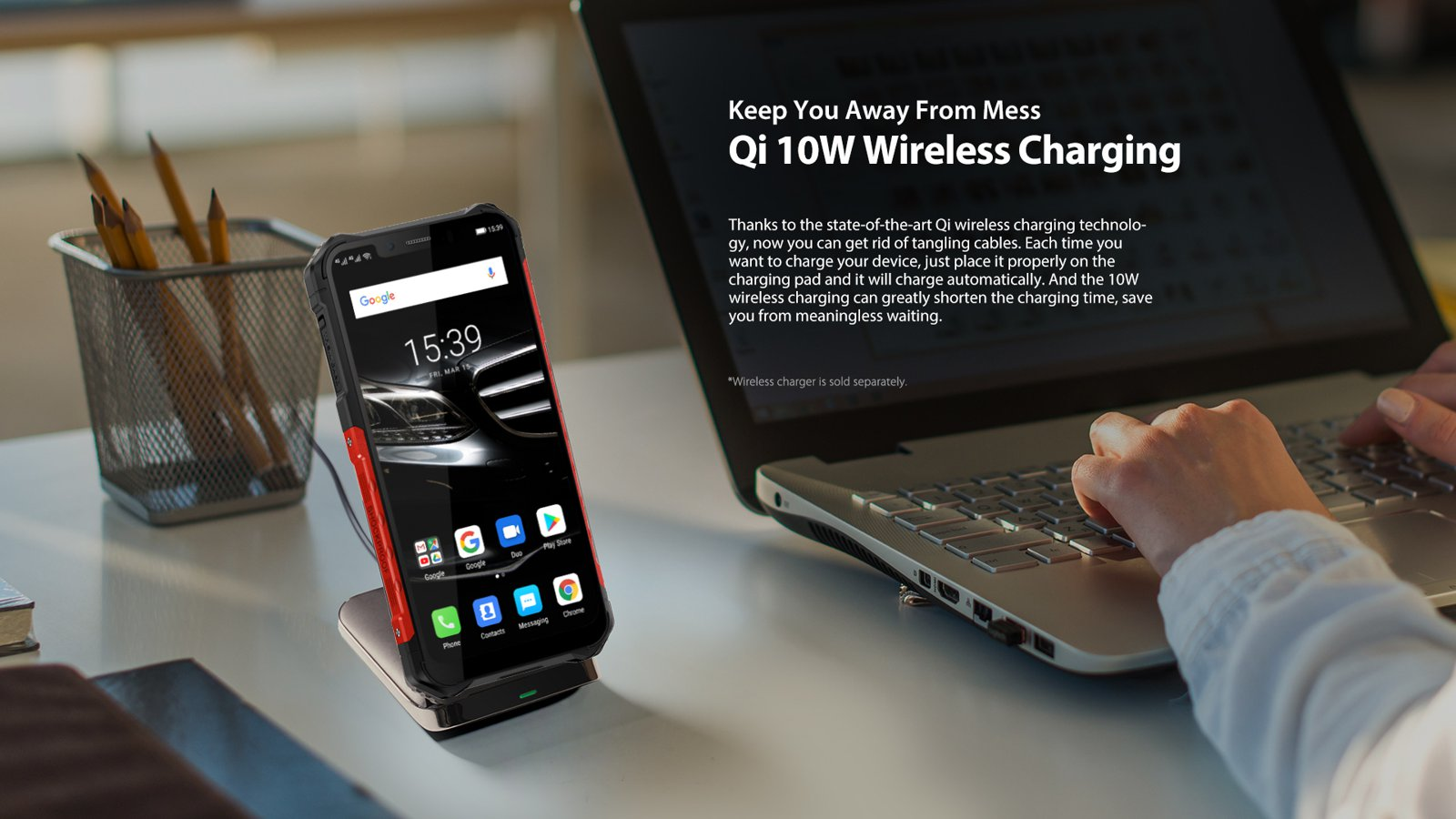 cell phone accessory - fast qi charger