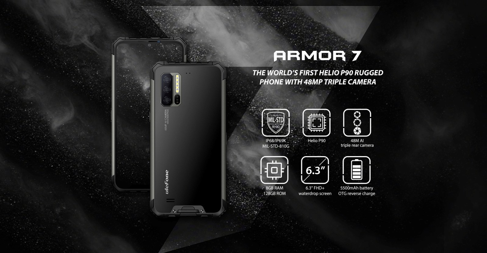 ulefone armor 7 highlight specifications