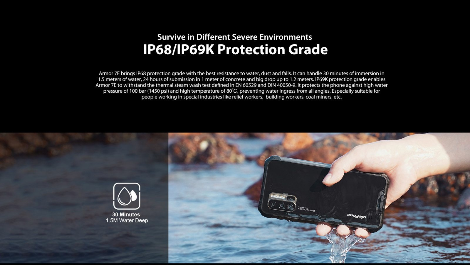 ip68 - ip 69k rugged certification
