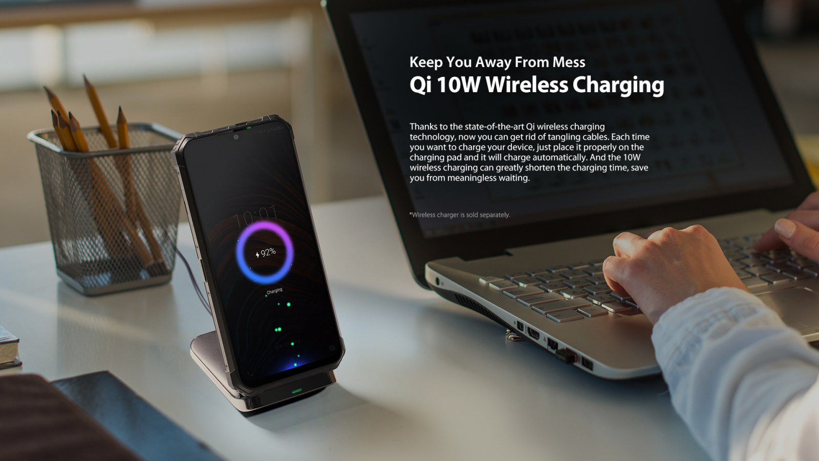 fast qi wireless cellular charging 7E