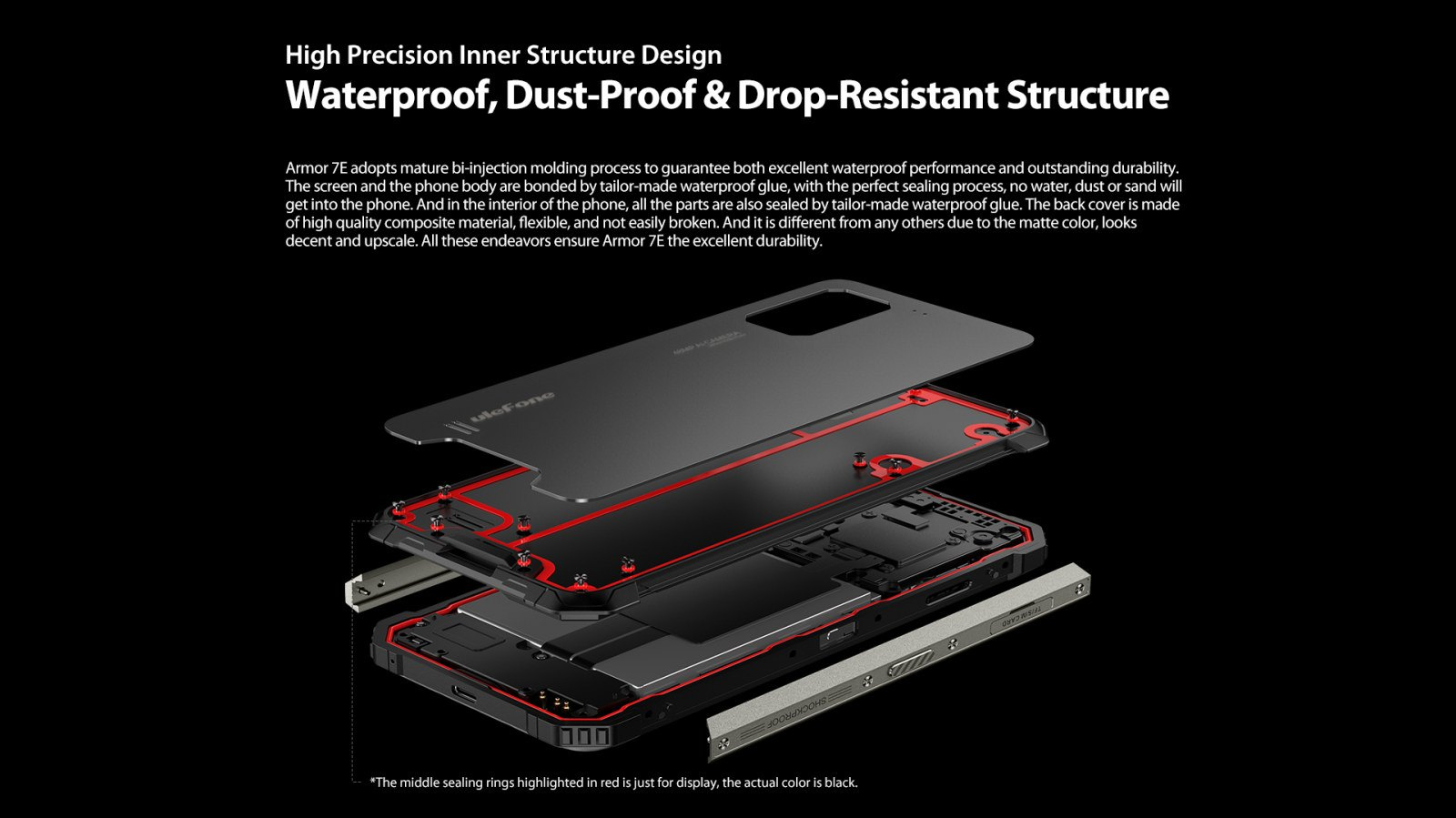 rugged water proof dust proof design