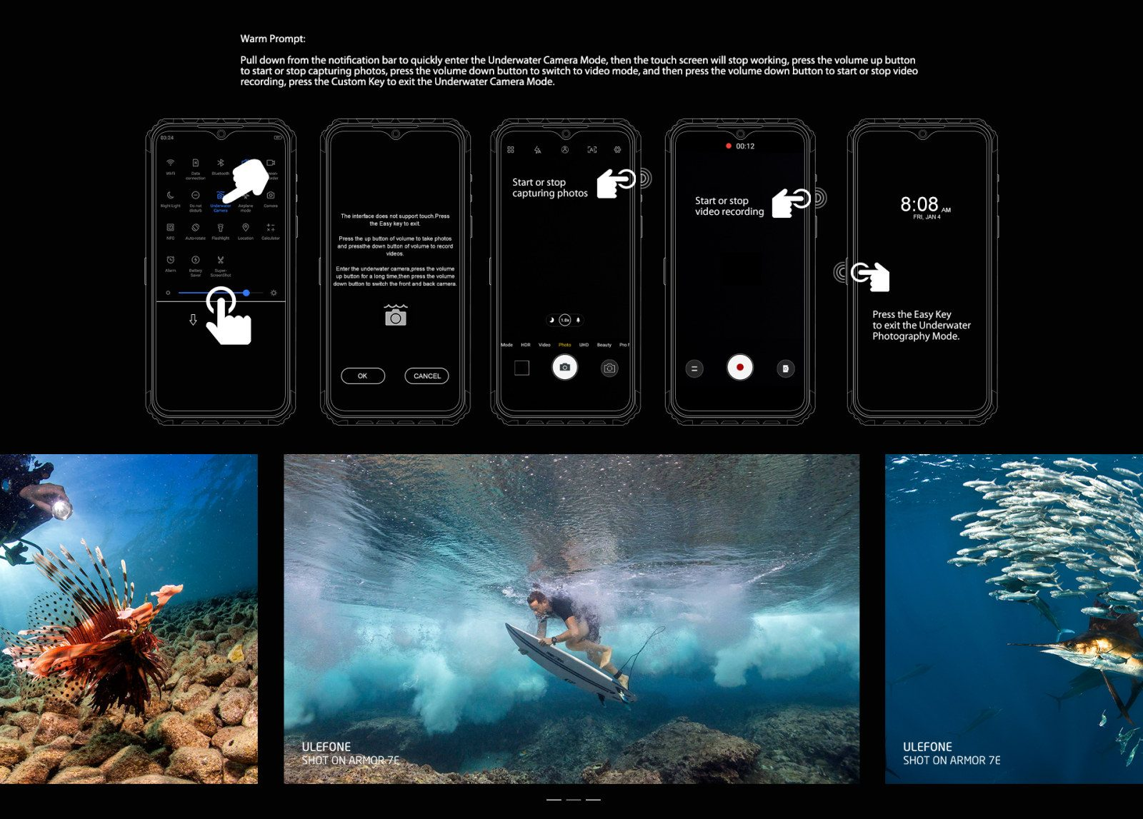 underwater photography features
