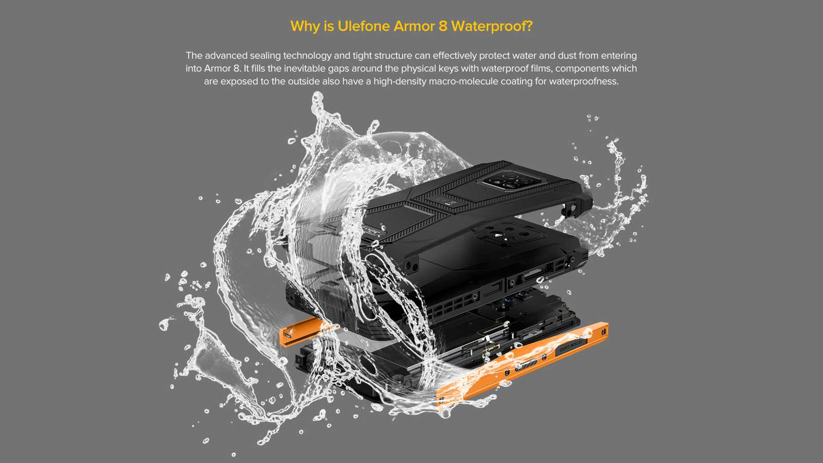 ulefone armor 8 waterproof