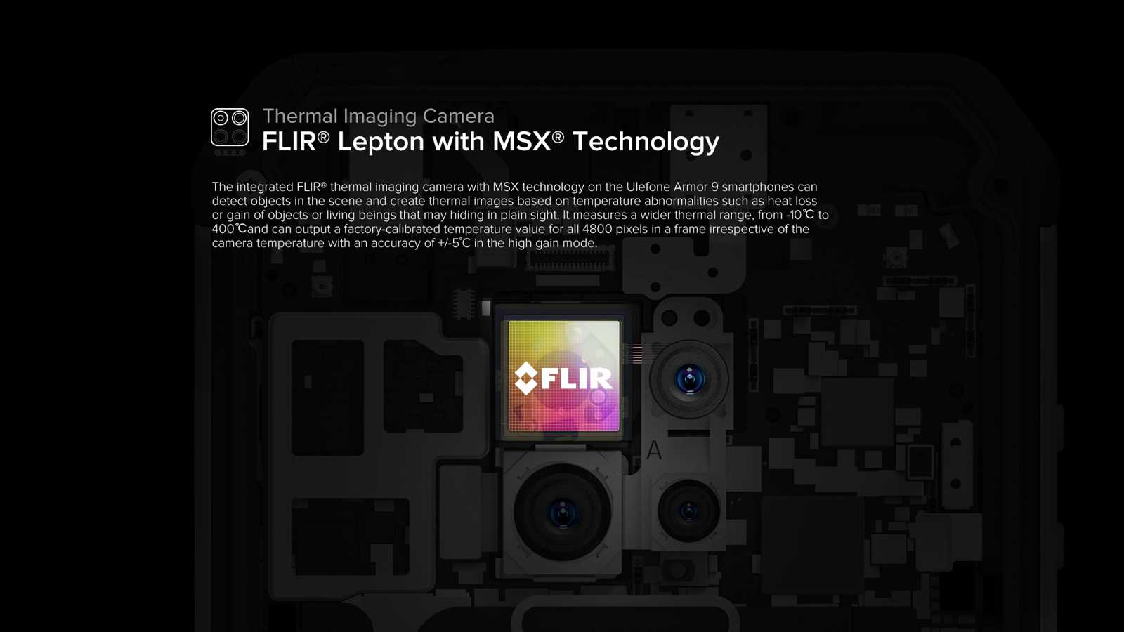 FLIR Lepton with MSX Thechnology