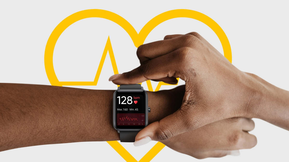 sports and health monitoring smart watch