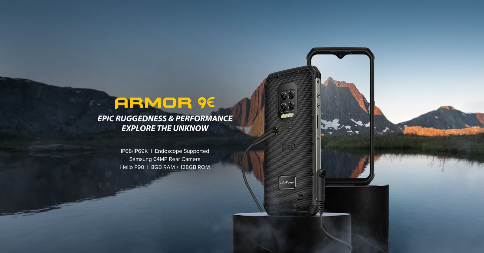 rugged ulefone 9E cell mobile phone