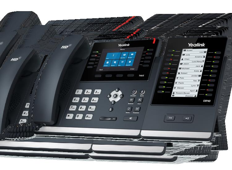 T46S expandable IP business desk phone