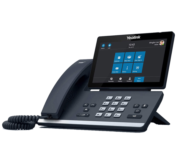 Yealink T58A IP SIP Video Calling Desk Phone