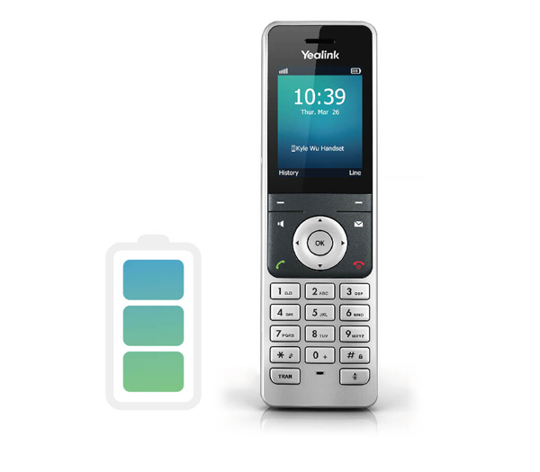 W60P handset quick charge cordless solution