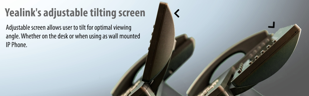 yealink adjustable tilting screen