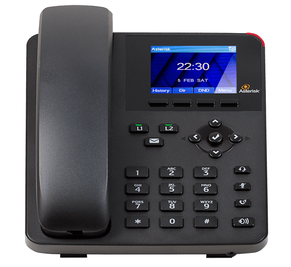 A20 Digium IP Phone general use - front view