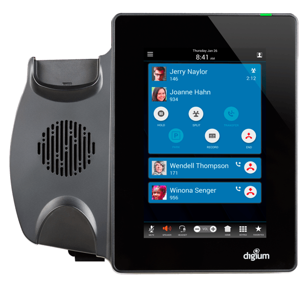 Digium D80 tablet style IP Phone no handset