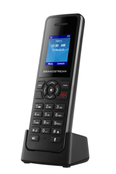 GrandStream DP720 cordless IP phone front right view