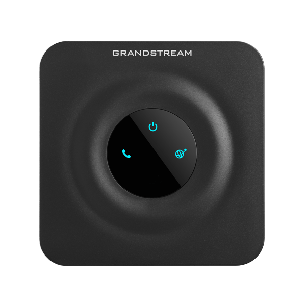 GrandStream HT802 ata telephone analog to voip adapter top view