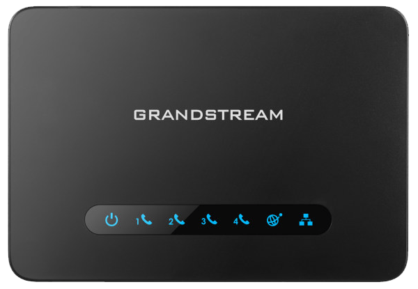 GrandStream HT814 ata adapter top view