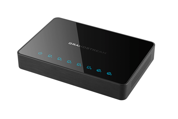 gwn7000 gigabit router vpn side view