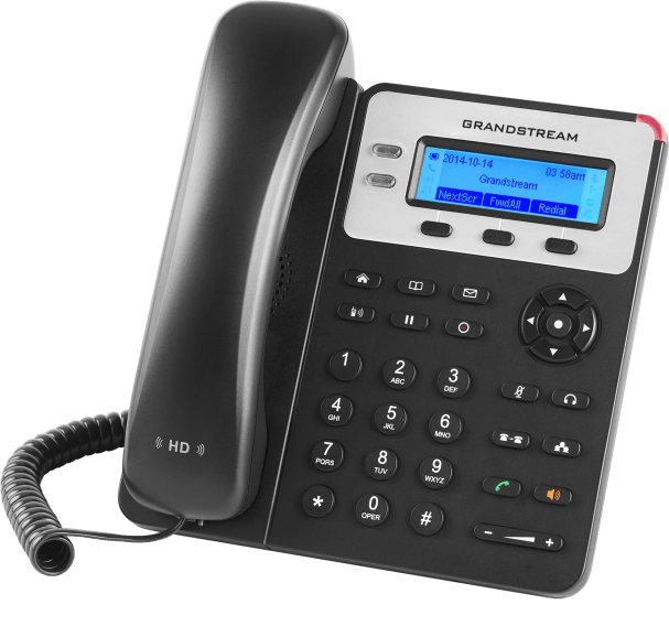 GXP1625 basic ip phone front right view