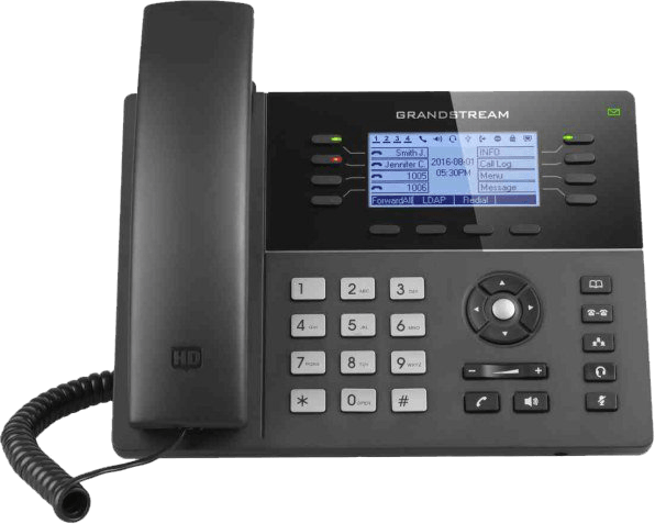 GrandStream GXP1782 ip desk phone front