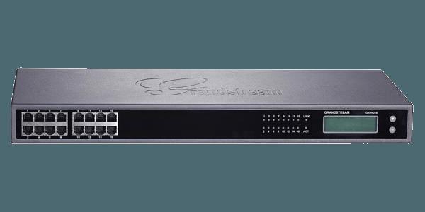 GrandStream GXW4216 VoIP SIP gateway front