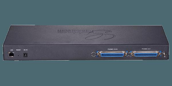 GXW4232 analog to voip gateway rear