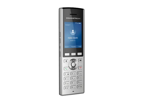 WP820 cordless WiFi ip phone left front