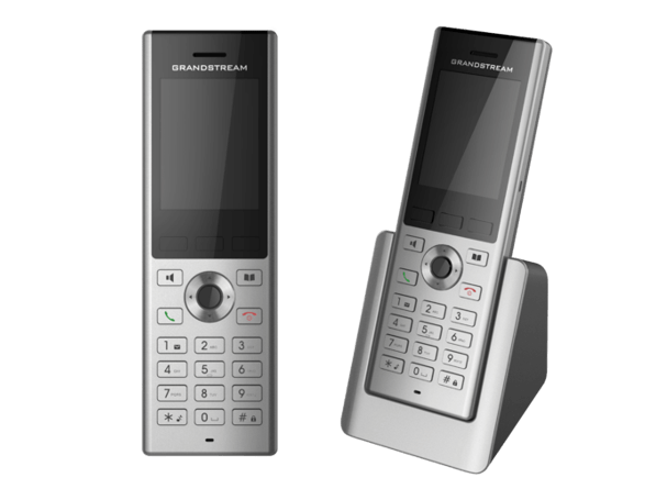 WP820 side by side stand and handset only shown