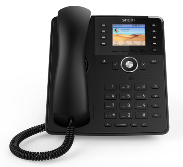 Snom D735 Mid-Range Work IP Phone - front view