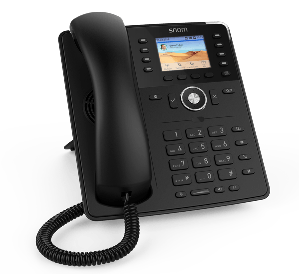 Snom D735  Work IP Phone - left view