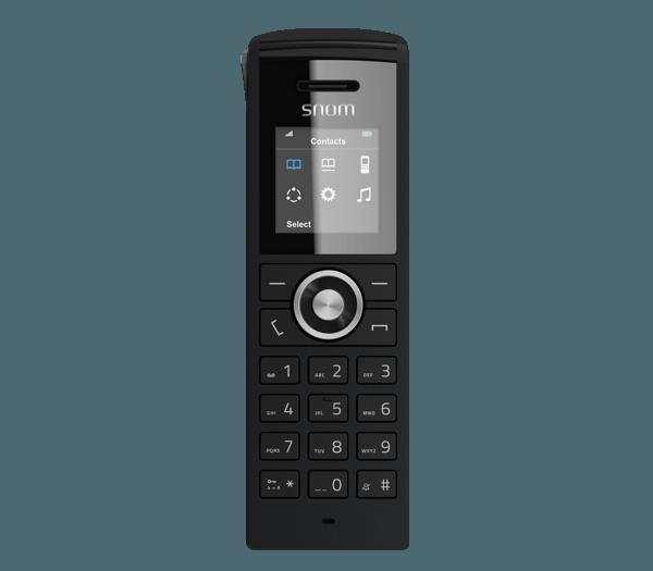 snom M25 cordless handset front view