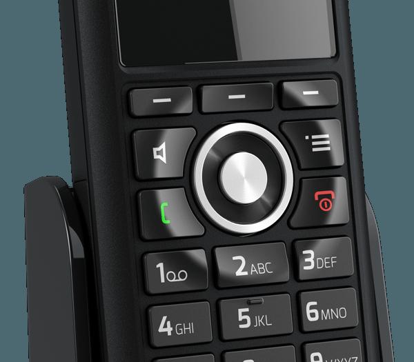 snom M85 close-up dial control pad